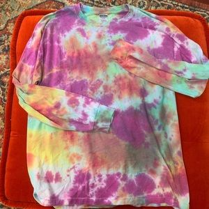 Other - ‼️SOLD Tie Dye Long Sleeve 🌞 Size L